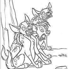 Shenzi, Banzai und Ed, das Hyänentrio