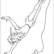 Peter Pan fliegt