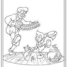 Pinocchio und Geppetto 1