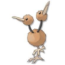 Dodu Pokemon zum Ausmalen