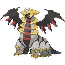 Giratina Pokemon zum Ausmalen
