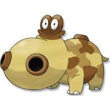 Hippopotas Pokemon zum Ausmalen
