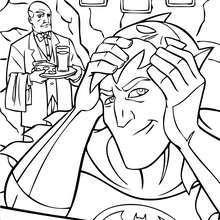 Bruce Wayne mit Batmanmaske