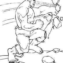 Hulk zerstört die Wand