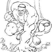 Hulk bereit für die Zerstörung