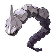 Onix Pokemon zum Ausmalen