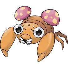 Paras Pokemon zum Ausmalen