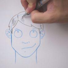 Zeichnen Sie eine Frisur: Der Vollpony