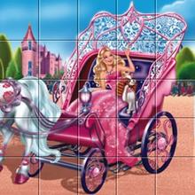 Barbie Die Prinzessin und der Popstar Wagen