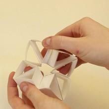 Die Dreiecke papertoy