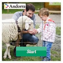 In Andorra teilen die Kinder mit den Tieren