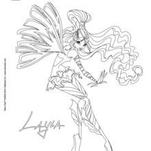 Layla, Umwandlung Sirenix