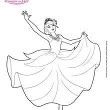 Malvorlagen Barbie Ballerina Zum Ausmalen De Hellokids Com
