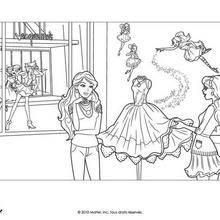 Coloring Barbie und Alice