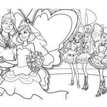 Die Ehe von Zane und Graciella Färbung