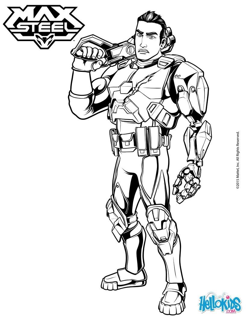 Ausmalbilder Marvel Helden Angel: Ferrus Forge Zum Ausmalen