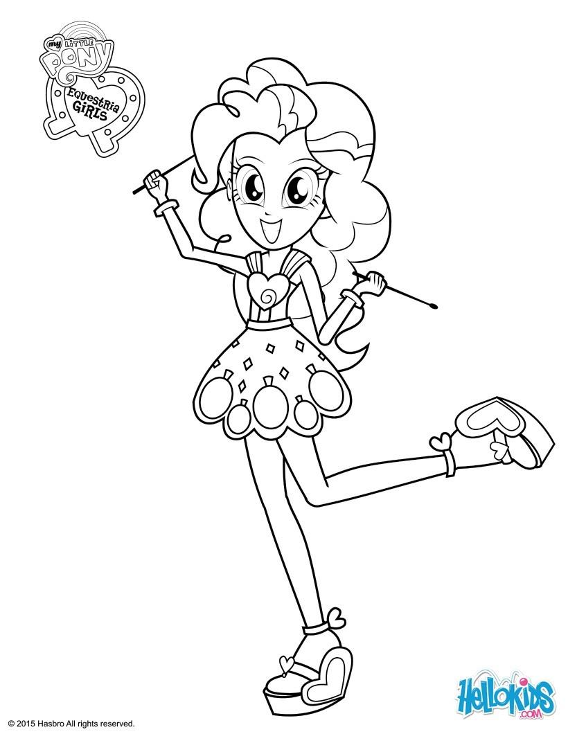 Pinkie pie zum ausmalen - de.hellokids.com