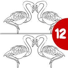 flamingo ausmalbilder kostenlose spiele bilder f r kinder videos f r kinder lesen basteln. Black Bedroom Furniture Sets. Home Design Ideas