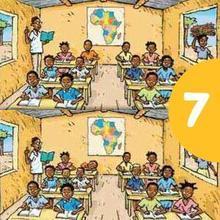 Eine afrikanische Klasse