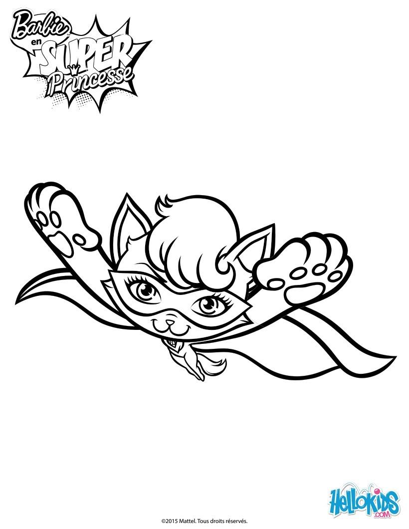 Super Katze im Flug