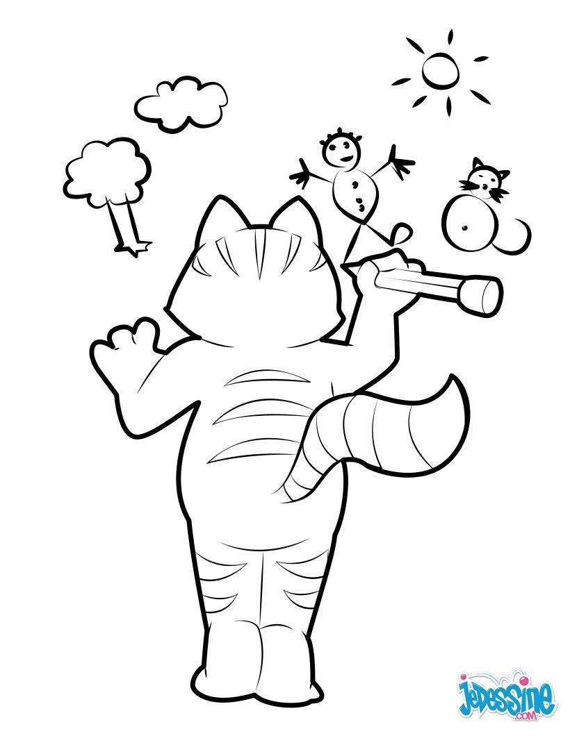 Katze Zum Ausmalen Ausmalbilder Ausmalbilder Ausdrucken