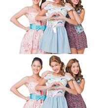 Francesca, Violetta und Camilla