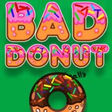 Die Donut schimmelig!