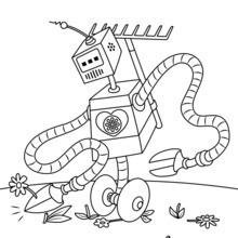 roboter : ausmalbilder, kostenlose spiele, basteln, videos