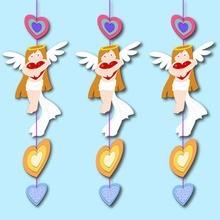 Angels & Herz-Schnur-Dekoration