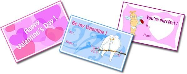 Valentines Tag Karten