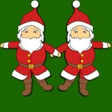 Weihnachtsmann-Puppe