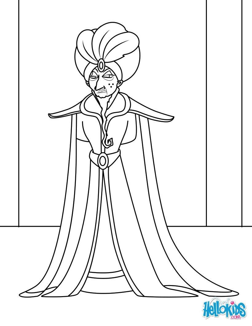Vizier zum ausmalen - Danseuse orientale dessin ...