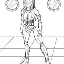 Weiblicher Roboter