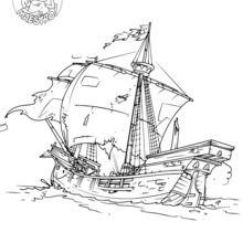 Die Karavelle Columbus