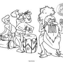 Maestro tanzen Schlagzeug