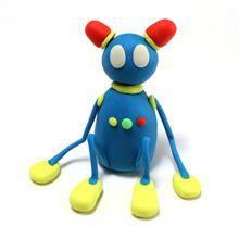 Robot Plastilin