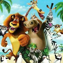 MADAGASCAR zum Ausmalen