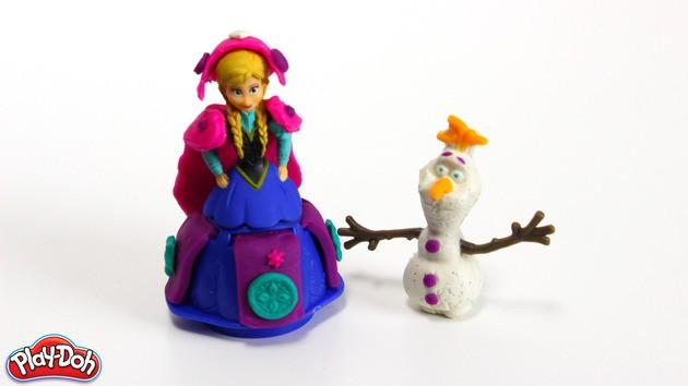 Die Schneekönigin Plastilin