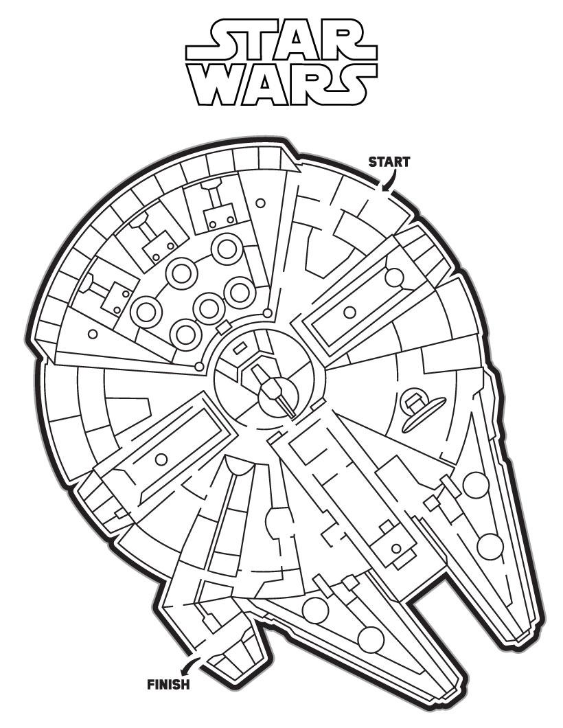 Star Wars : Ausmalbilder, Kostenlose Spiele, Bilder für Kinder ...