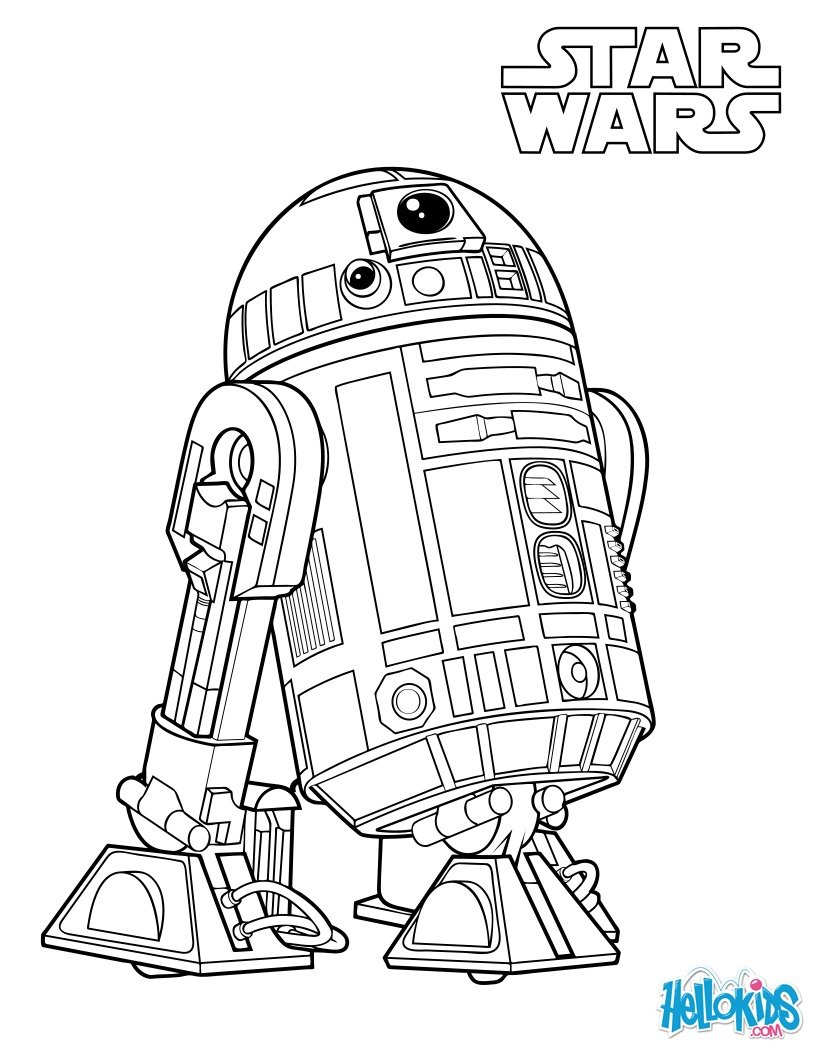 Bb8 Droid Coloring Pages Coloring Pages
