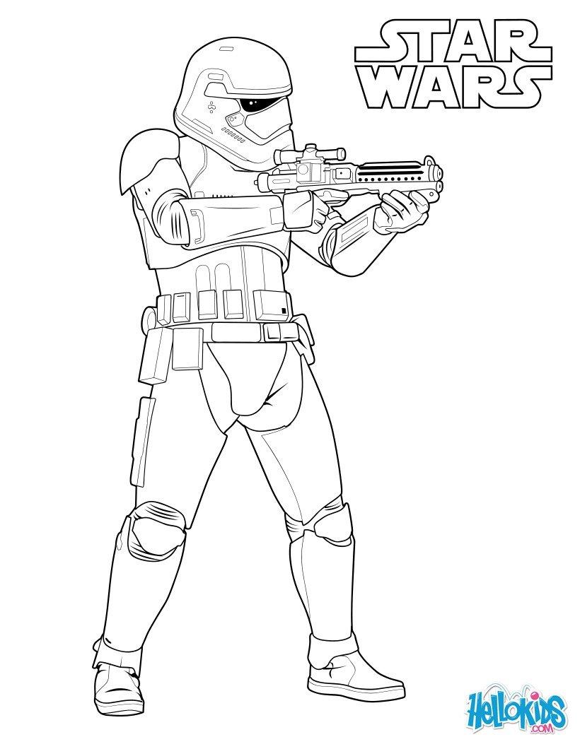 Stormtrooper Kampf in der ersten Ordnung