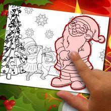 Einen Malvorlagen Weihnachten