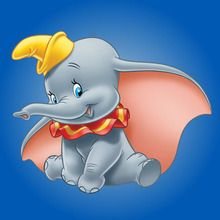 Dumbo zum Ausmalen