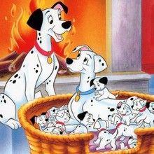 101 Dalmatiner zum Ausmalen