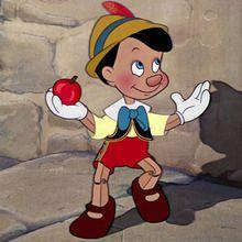 Pinocchio zum Ausmalen