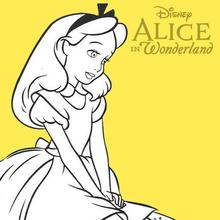 Alice Im Wunderland Zum Ausmalen Ausmalbilder Ausmalbilder