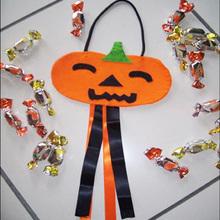 Halloween Süßes sonst gibt's Saures Beutel - mit Anweisungen