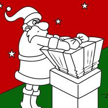 Die Lieferung von Weihnachtsgeschenken