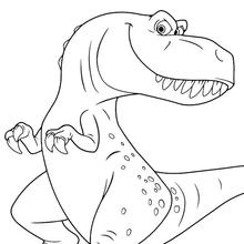 Dinosaurier Ausmalbilder Bilder Für Kinder Kostenlose Spiele