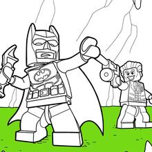 Lego Batman Und Joker Zum Ausmalen Dehellokidscom